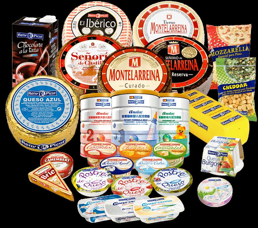 Reny Picot - Empresa Multinacional de Productos Lácteos - Asturias - Quesos Reny Picot