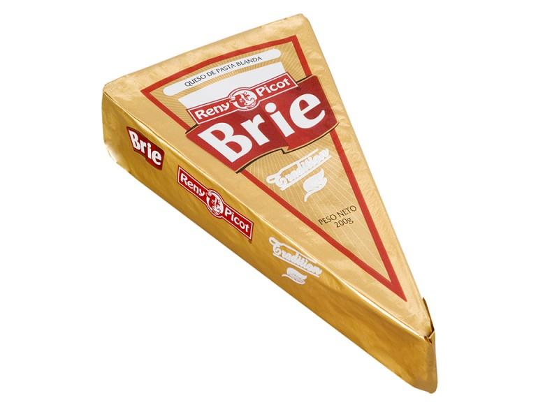 Queso brie en cuña Reny Picot queso cremoso