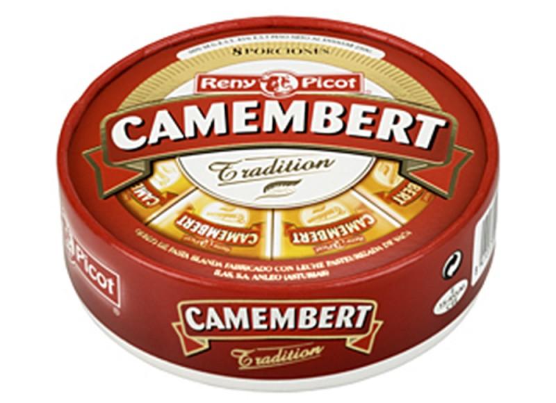 Queso Camembert Tradition cortado en Porciones Reny Picot mejor queso