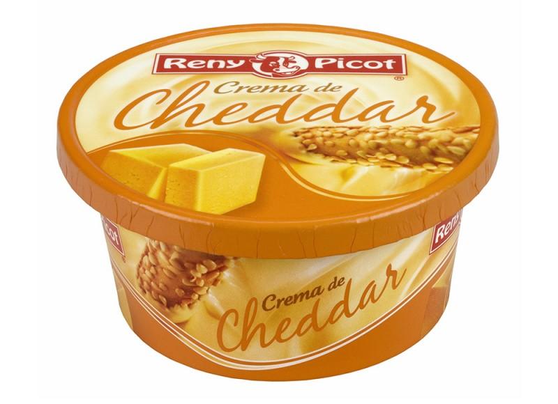 Crema de queso Cheddar 125g Reny Picot pasta con queso cheddar