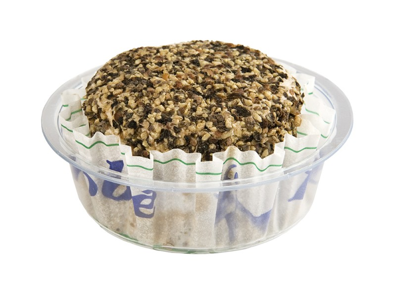 Queso de Cabra cubierto de pimienta negra lenrobe Reny Picot- aperitivos con queso de cabra