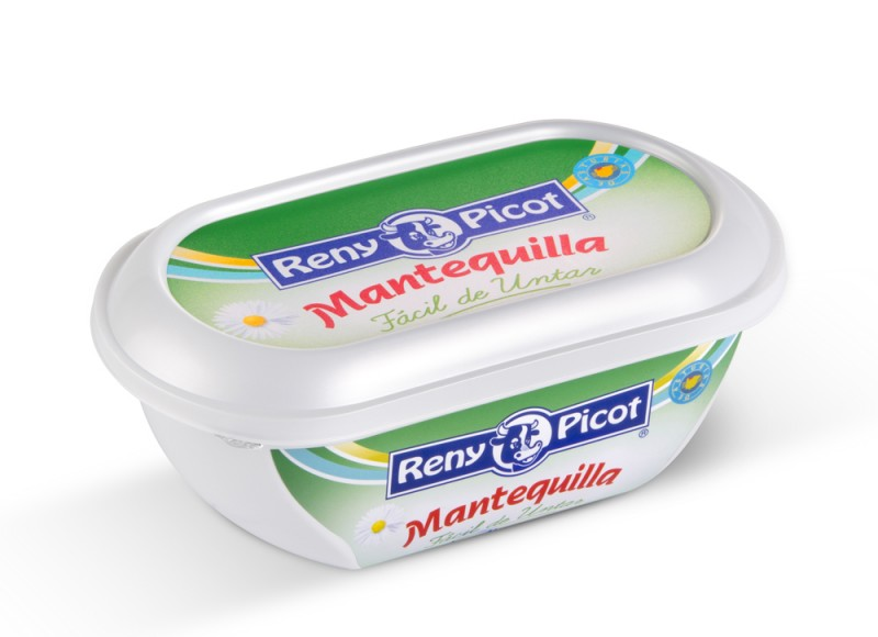 Mantequilla f cil de untar tarrina 250g for Cuchillo de untar mantequilla