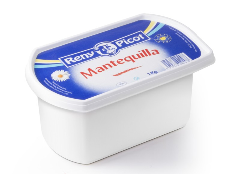 Mantequilla tarrina 1Kg Reny Picot
