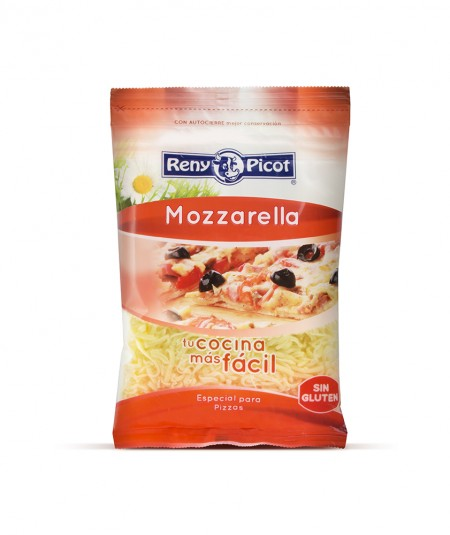 Grated Mozzarella cheese 150g / 7.05oz - Reny Picot