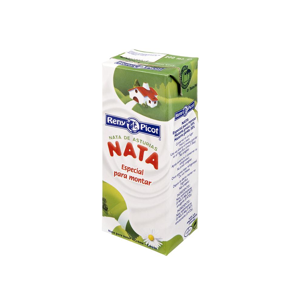Nata para montar reny picot 200ml deliciosa para tus - Nata liquida para postres ...
