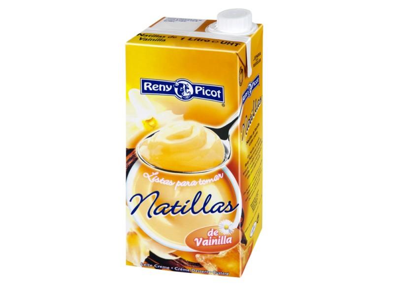 Natillas de Vainilla 1L Reny Picot reposteria