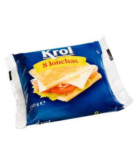 Pack 8 fatias de queijo Krol 150g Reny Picot