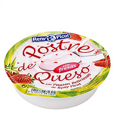 Sobremesa de queijo com morangos 100g  Reny Picot