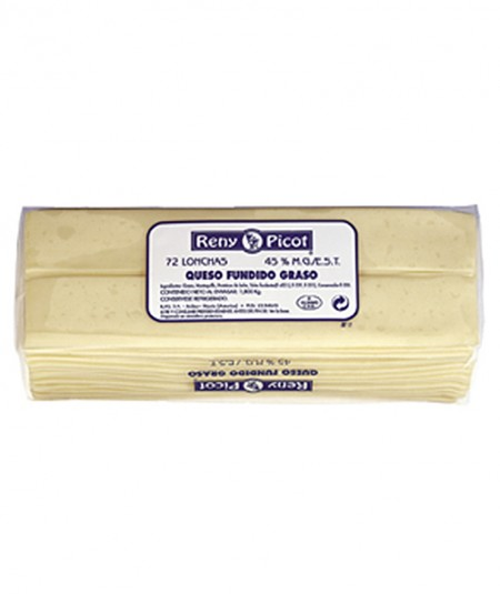 Queso Fundido pack 72 lonchas baguette