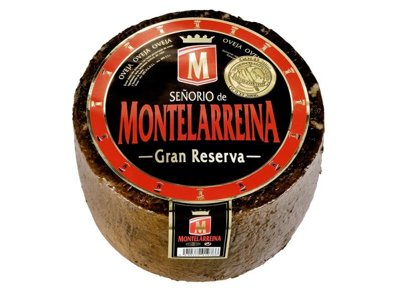 Queso Oveja Senorio de Montelarreina Gran Reserva 3kg reny picot mejor queso espanol mundo