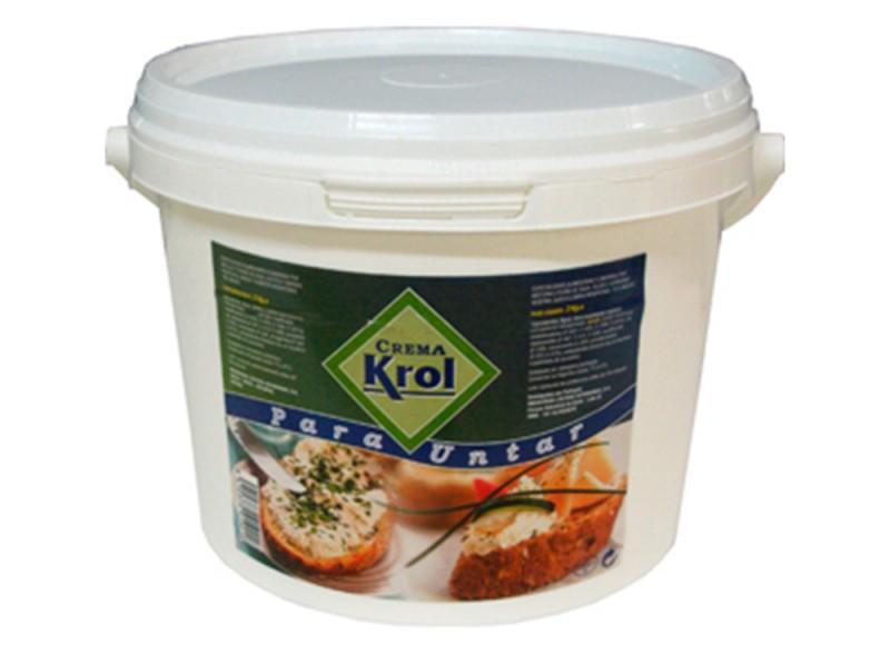 Crema para untar Krol 5kg hostelería