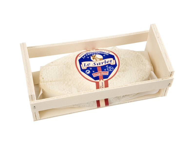 Mejor Queso de Cabra Le Sarlet - Reny Picot. Medalla de Oro world cheese awards