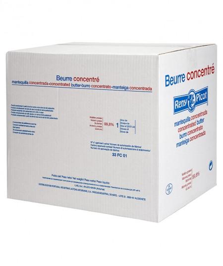Mantequilla concentrada bloque 25kg para el sector industrial grandes cantidades