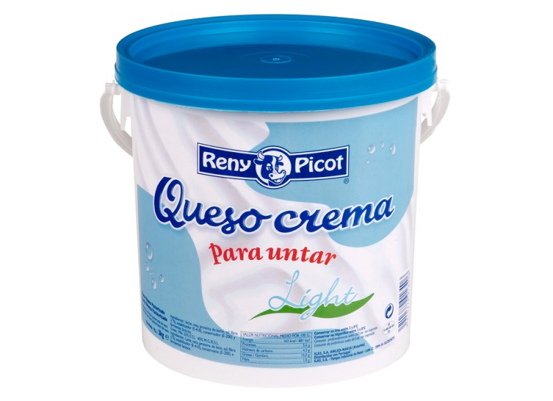 queso crema natural light