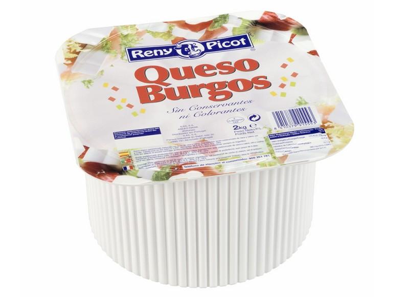 Queso Burgos 2kg Reny Picot Queso fresco semigraso