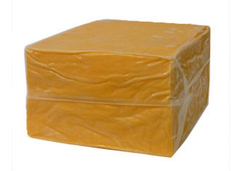 Queso Cheddar naranja en bloque para industria reny picot