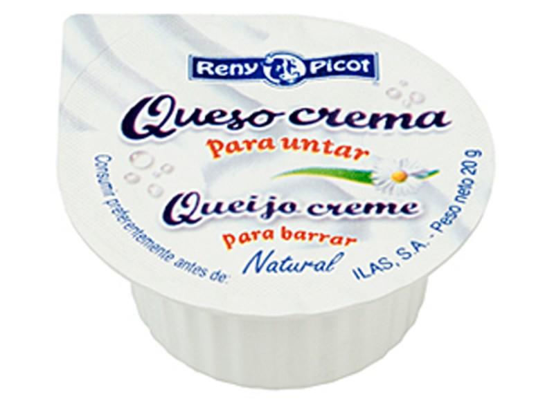 Queso crema natural