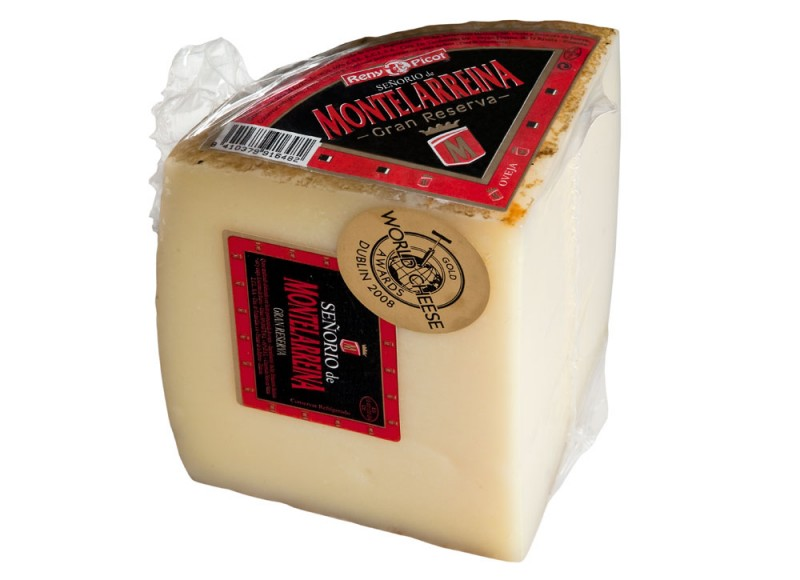 Queso Oveja Senorio de Montelarreina Gran Reserva 1/4 pieza reny picot mejor queso espanol