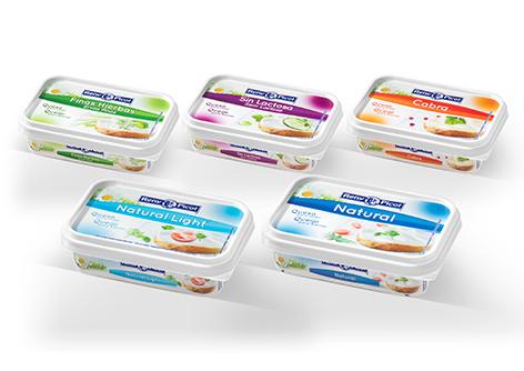 quesos crema para untar variedades y tipos queso sin lactosa light