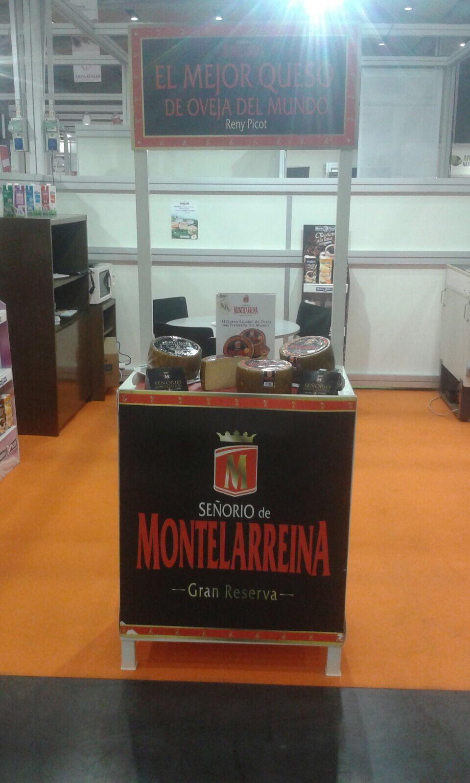 Feria Gastrónoma. Stand queso Señorío de Montelarreina Reny Picot