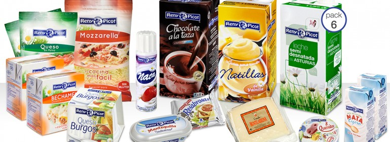 Productos lácteos Reny Picot