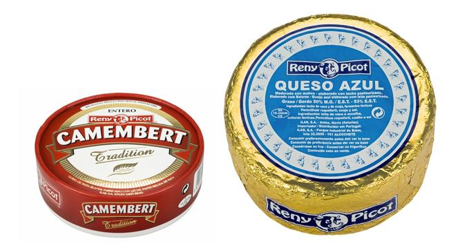 queso camembert y queso azul - conservar el queso
