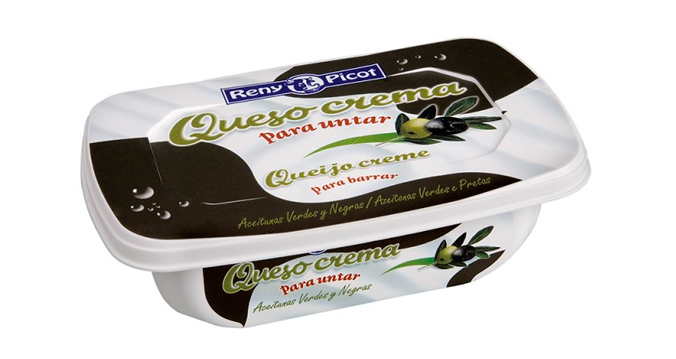 aperitivos con queso crema de aceitunas Reny Picot