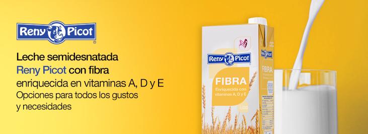 Beneficios de la fibra en la leche