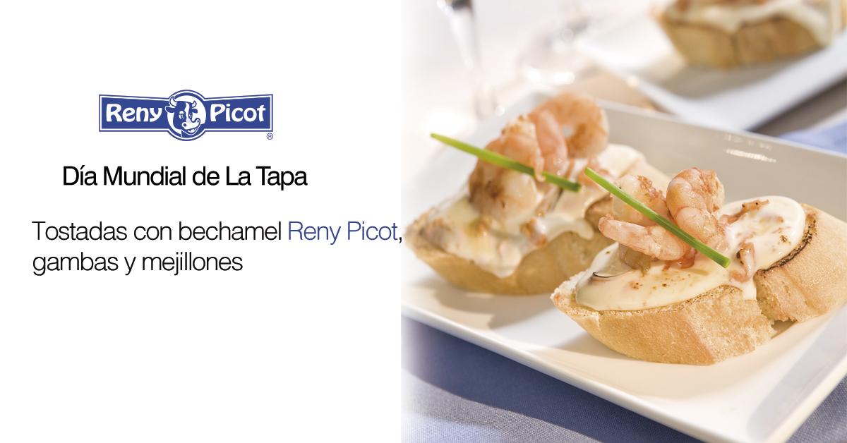 Día Mundial de la Tapa - Bechamel Reny Picot