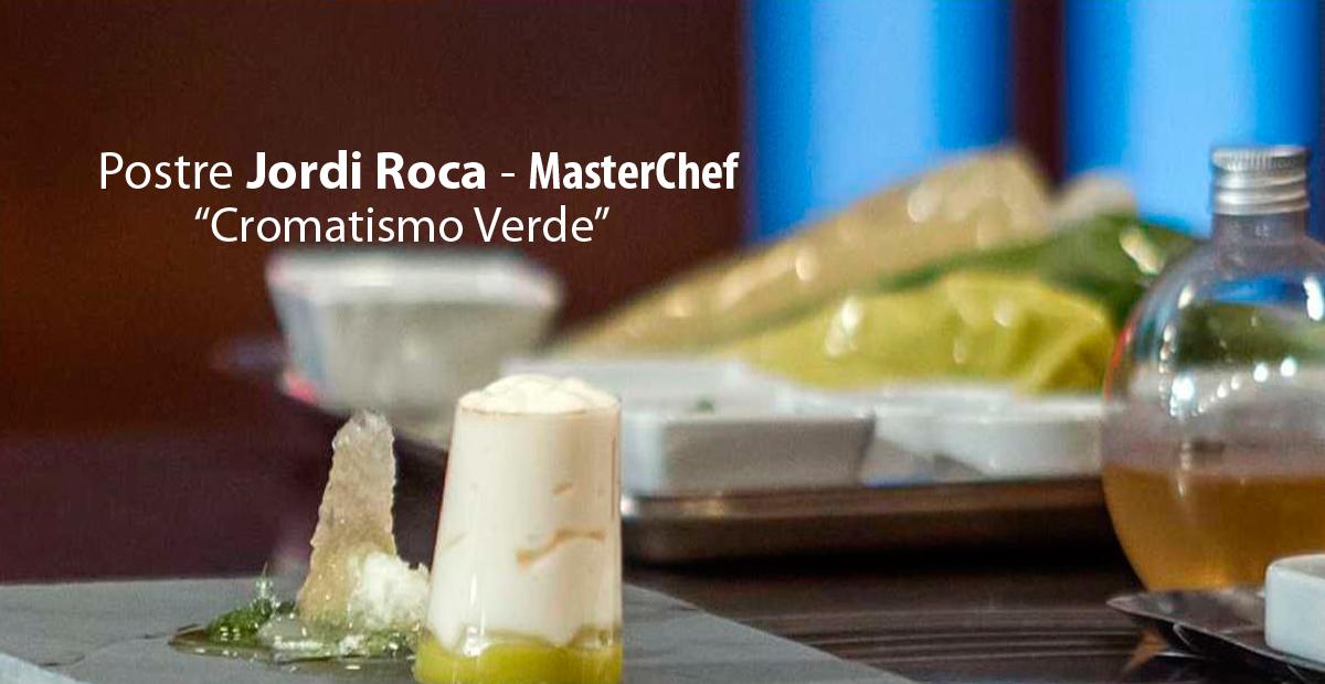 Postre Jordi Roca - MasterChef