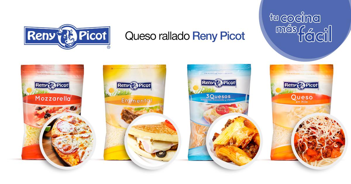 Quesos rallados Reny Picot