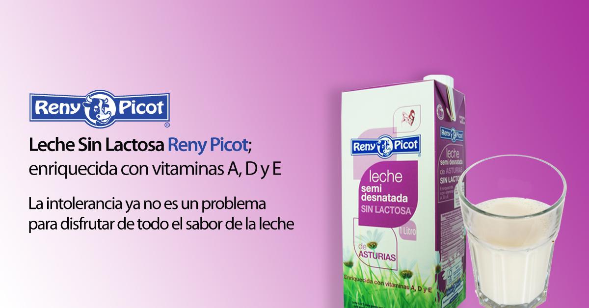 Leche sin lactosa Reny Picot