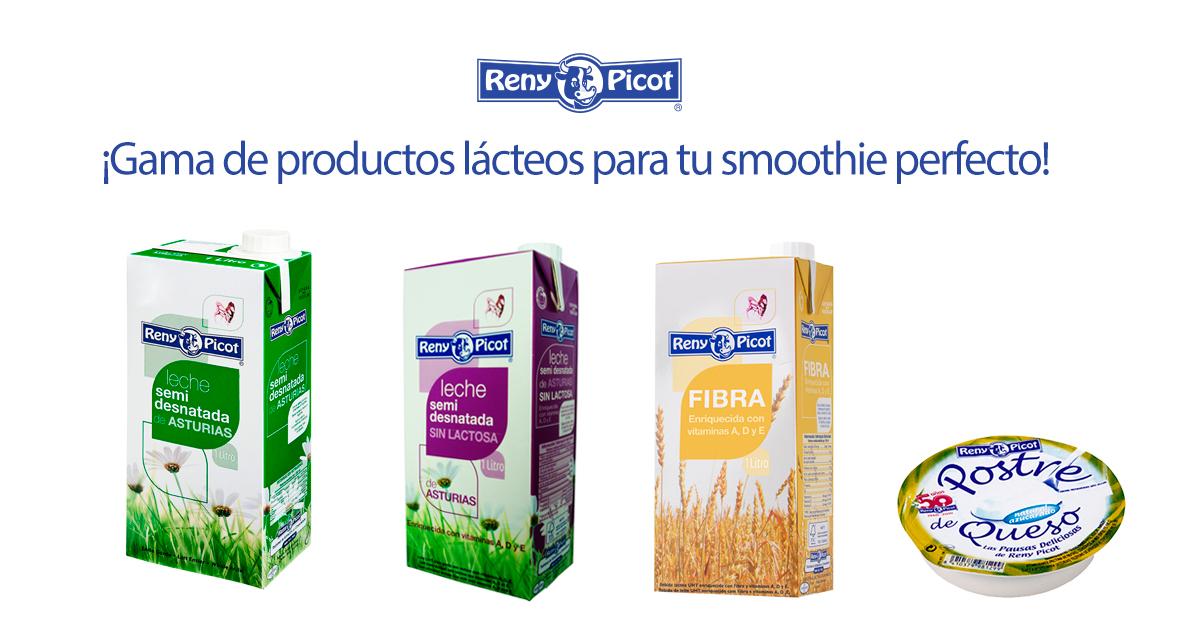 gama-de-productos-lácteos-para-elaborar-un-smoothie-perfecto. Reny Picot