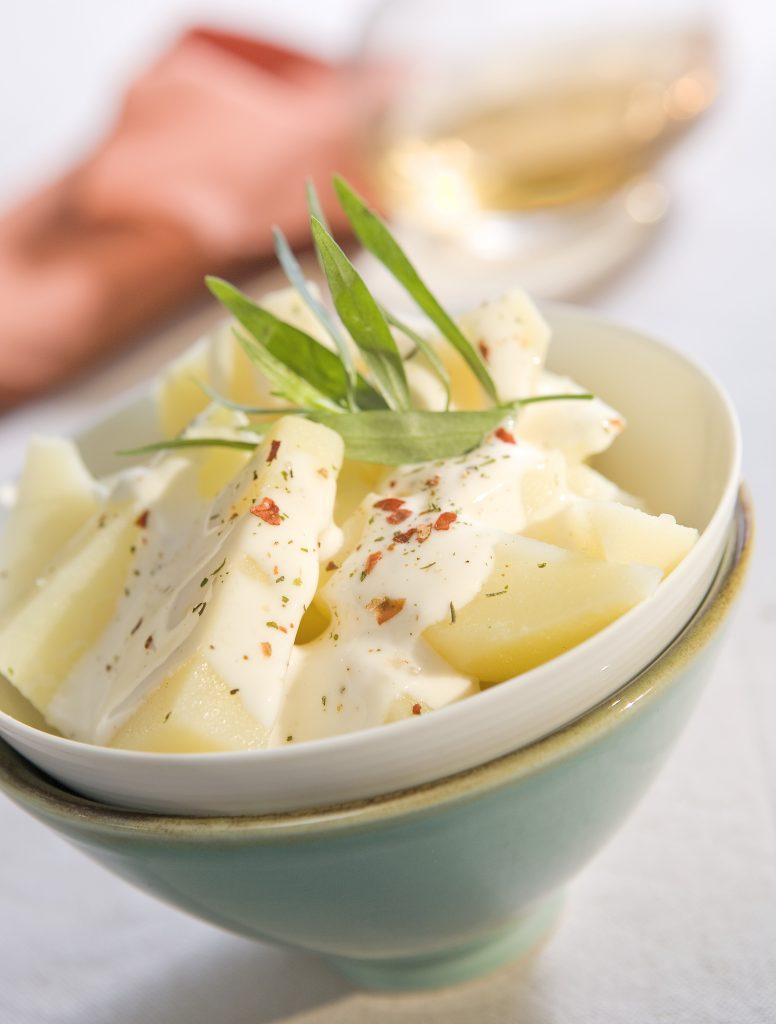 recetas de verano. Patatas con bechamel Reny Picot