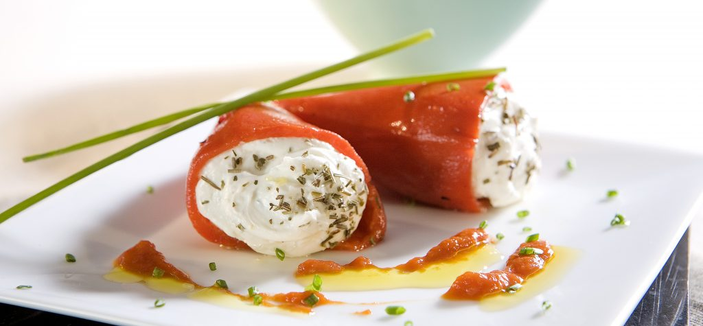 Recetas de verano. Pimientos del piquillo con queso crema Reny Picot
