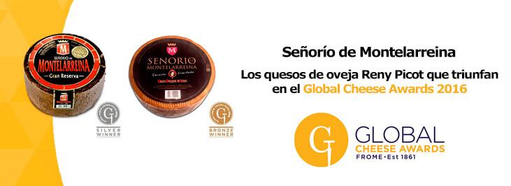 Reconocimiento al queso de oveja Señorío de Montelarreina en el concurso Global Cheese Award