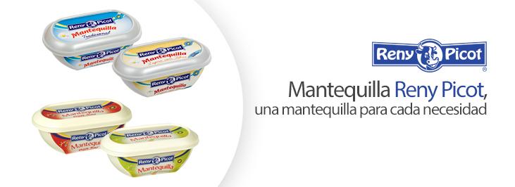 Mantequilla Reny Picot y sus variedades