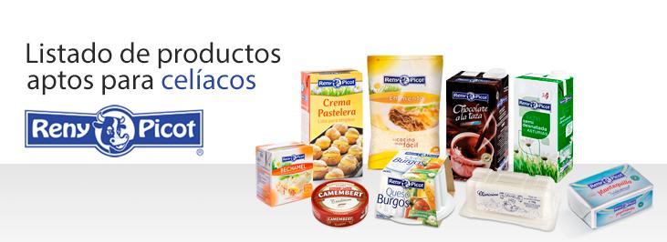 Productos Reny Picot para celiacos