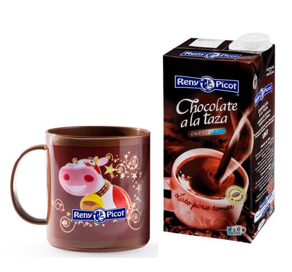 Churros caseros con chocolate a la taza Reny Picot