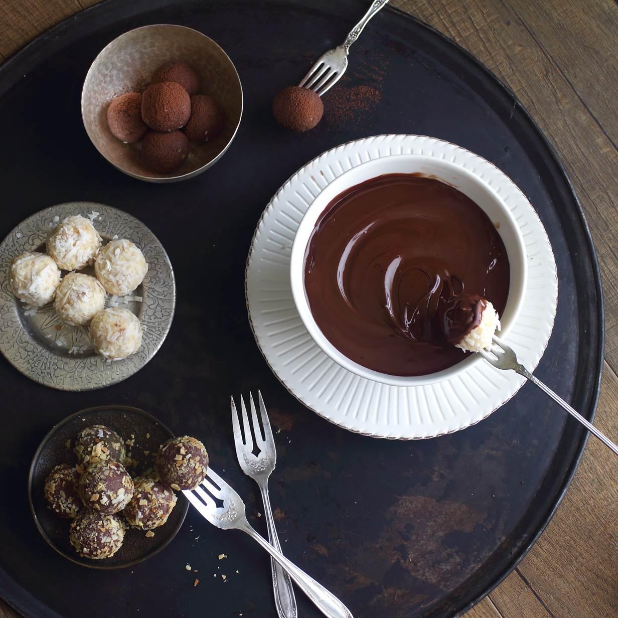 Fondue de chocolate