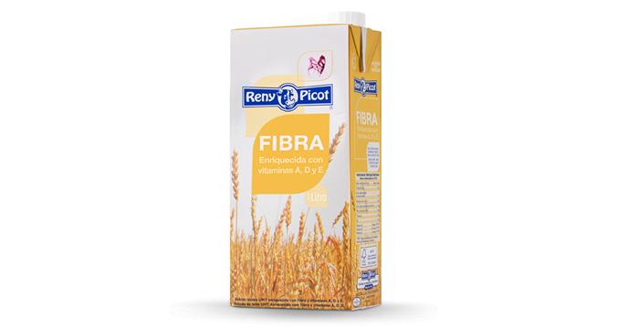Alimentación saludable con leche con fibra Reny Picot