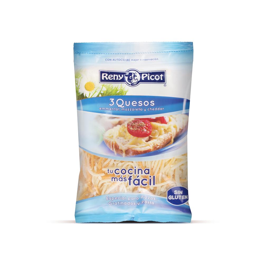 Tres quesos rallado 150g Reny Pico
