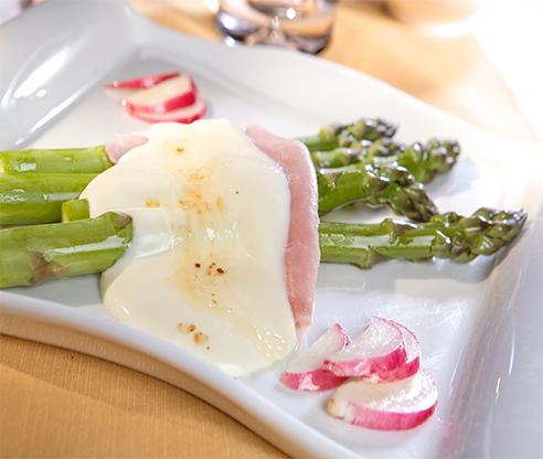 Recetas para cenas - verduras con queso Camembert Reny Picot