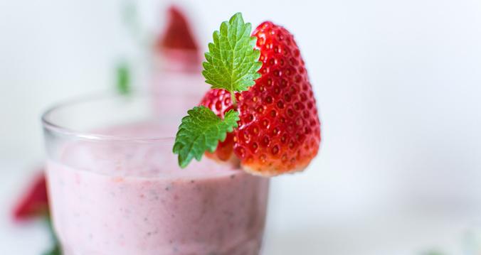 batido de frutas leche Reny Picot - bruch