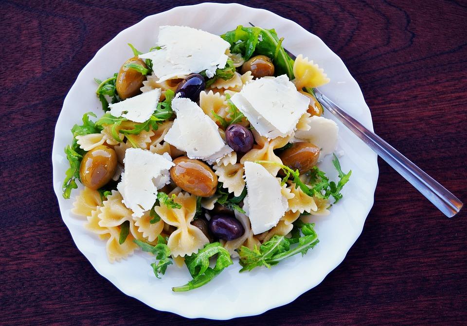 Recetas para comer fuera de casa - pasta con queso curado Montelarreina Reny Picot