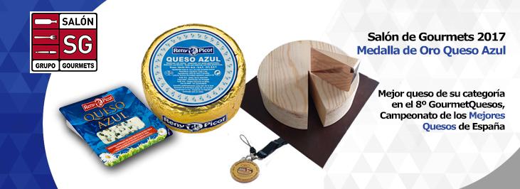 Queso Azul Reny Picot, medalla de oro en el GourmetQuesos