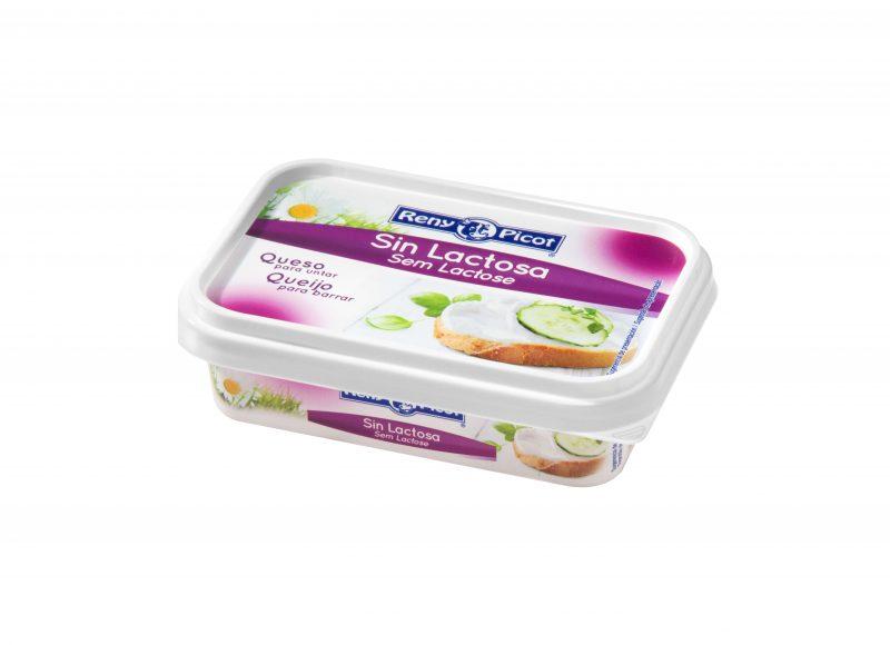 Queso para untar crema sin lactosa Reny Picot