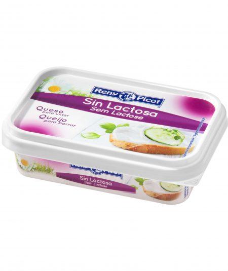 Queso crema para untar sin lactosa Reny Picot