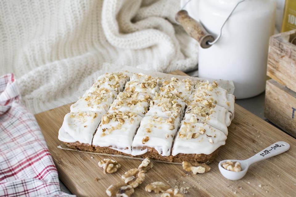 Queso sin lactosa Reny Picot - Carrot cake - recetas faciles