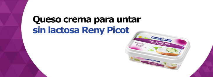 queso sin lactosa Reny Picot - recetas fáciles - queso para unar